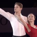 アレクサンドラ・ボイコワ&ドミトリー・コズロフスキー 世界ジュニア選手権2017 エキシビション演技 (解説:中国語)
