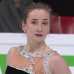 アンナ・フニチェンコワ 世界選手権2017 ショート演技 (解説:ロシア語)