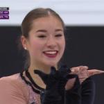 ヤスミン・キミコ・ヤマダ 世界選手権2017 ショート演技 (解説:ロシア語)