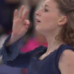 ロリーヌ・ルカヴァリエ 世界選手権2017 ショート演技 (解説:ロシア語)
