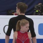 エカテリーナ・アレクサンドロフスカヤ&ハーレー・ウィンザー 世界選手権2017 ショート演技 (解説:ロシア語)