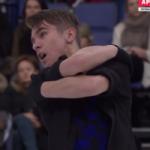 イワン・パブロフ 世界選手権2017 ショート演技 (解説:ロシア語)