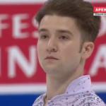 ミーシャ・ジー 世界選手権2017 ショート演技 (解説:ロシア語)