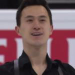 パトリック・チャン 世界選手権2017 ショート演技 (解説:ロシア語・イギリス英語)