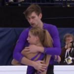 エカテリーナ・アレクサンドロフスカヤ&ハーレー・ウィンザー 世界選手権2017 フリー演技 (解説:ロシア語・イギリス英語)