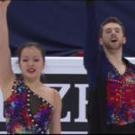 ミン・ユラ&アレクサンダー・ガメリン 世界選手権2017 ショート演技 (解説:ロシア語)