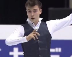 アレキサンダー・ボロヴォイ 世界ジュニア選手権2017