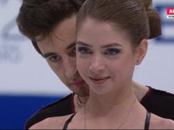 アレクサンドラ・ナザロワ&マキシム・ニキーチン 世界選手権2017