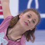 ロリーヌ・ルカヴァリエ 世界選手権2017 フリー演技 (解説:ロシア語)