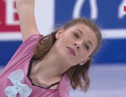 ロリーヌ・ルカヴァリエ 世界選手権2017