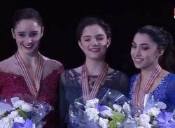 世界選手権2017 女子シングル表彰式