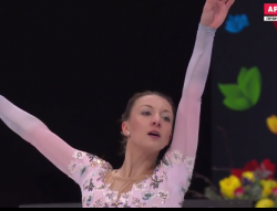 ニコル・ショット 世界選手権2017 フリー演技