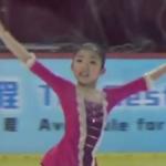 千葉百音 アジアフィギュア杯2017 フリー演技 (ホームビデオ撮影)