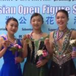 アジアフィギュア杯2017 女子シングル表彰式 (解説:広東語)