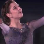 エフゲニア・メドベデワ NHK杯2017 エキシビション演技 (解説:イギリス英語)