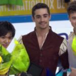 フランス国際2017 男子シングル表彰式 (解説:なし)