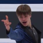 デニス・ヴァシリエフス 欧州選手権2018 フリー演技 (解説:ロシア語・イギリス英語)