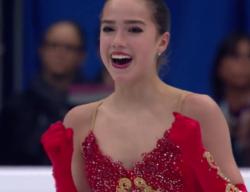 スケート選手権(ISU European Figure Skating Championships 2018)」、ロシア代表,アリーナ・ザギトワ  (Alina ZAGITOVA) のフリースケーティング演技の動画です。
