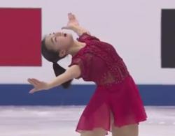 台湾・台北(Taipei)で開催された「2018年四大陸フィギュアスケート選手権(ISU Four Continents Figure Skating  Championships 2018)」、日本代表, 坂本花織(Kaori