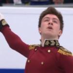 ドミトリー・アリエフ 欧州選手権2018 ショート演技 (解説:ロシア語・イギリス英語)