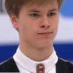 デニス・ヴァシリエフス 欧州選手権2018 ショート演技 (解説:ロシア語・イギリス英語)