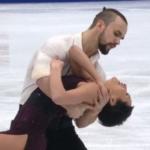 クセニヤ・ストルボワ&ヒョードル・クリモフ 欧州選手権2018 ショート演技 (解説:ロシア語・イギリス英語)