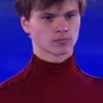 デニス・ヴァシリエフス 欧州選手権2018 エキシビション演技 (解説:ロシア語)