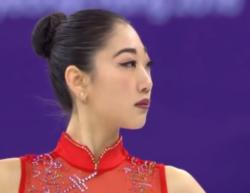 大会(XXIII Olympic Winter Games)」のフィギュアスケート団体戦、アメリカ代表,長洲未来[ミライ・ナガス]  (Mirai Nagasu)のフリースケーティング演技の動画です。