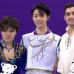 平昌オリンピック 男子シングル表彰式 (解説:英語)