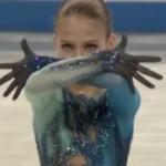 アレクサンドラ・トルソワ 世界ジュニア選手権2018 フリー演技 (解説:なし)