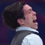 キーガン・メッシング 世界選手権2018 ショート演技 (解説:ロシア語)