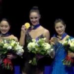 世界選手権2018 女子シングル表彰式 (解説:なし)
