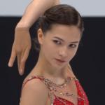 スタニスラワ・コンスタンチノワ 世界選手権2018 ショート演技 (解説:ロシア語)
