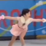 本田紗来 アジアフィギュア杯2018 フリー演技 (ホームビデオ撮影)