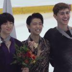 オータムクラシック2018 男子シングル表彰式 (解説:なし)