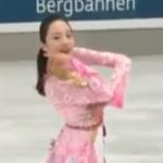 本田真凜 ネーベルホルン杯2018 フリー演技 (解説:なし)