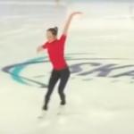 本田真凜 スケートアメリカ2018 公式練習 (2018/10/18)