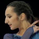 ポリーナ・ツルスカヤ スケートアメリカ2018 ショート演技 (解説:ロシア語)