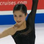 宮原知子 スケートアメリカ2018 フリー演技 (解説:アメリカ英語・ロシア語)