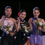 スケートアメリカ2018 女子シングル表彰式 (解説:なし)