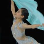 宮原知子 スケートアメリカ2018 エキシビション演技 (解説:アメリカ英語)