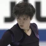 宇野昌磨 NHK杯2018 ショート演技 (解説:イギリス英語・ロシア語)