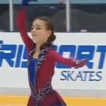 アンナ・シェルバコワ ロシア杯第4ステージ フリー演技 (解説:なし)