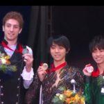ロステレコム杯2018 男子シングル表彰式 (解説:なし)