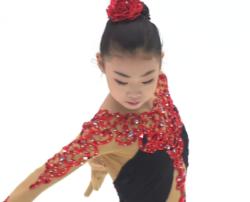安香怡 中国選手権2019 ショート...