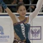 ユ・ヨン Children of Asia Games 2019 フリー演技 (解説:ロシア語)