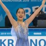 三原舞依 冬季ユニバーシアード2019 フリー演技 (解説:英語)