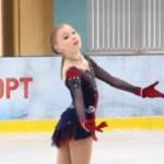 ソフィア・ムラヴィエワ モスクワジュニア選手権2019 ショート演技 (解説なし)