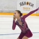 ソフィア・アカチエワ ロシアユース選手権2019 ショート演技 (解説なし)