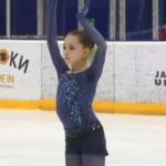 カミラ・ワリエワ ロシアユース選手権2019 ショート演技 (解説なし)